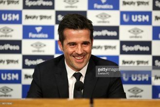 Marco Silva says Everton's overhaul will take time and won't happen overnight
