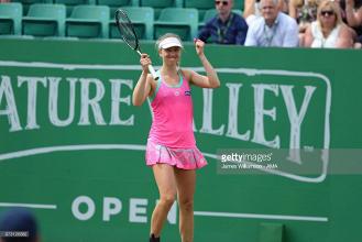 Nature Valley Open Nottingham 2018: Barthel stuns Rybáriková in second round