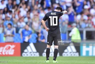 Messi falha penalty e Argentina não vai além do empate