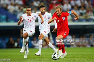 Bis de Harry Kane salva Inglaterra do empate