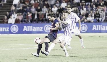Excelentes en defensa, pero faltos de gol arriba en el Valladolid