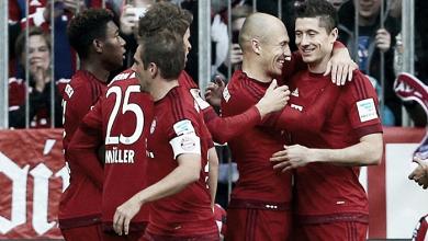 Hamburgo SV vs Bayern Múnich en vivo y en directo en Bundesliga 2017