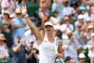 2018 Wimbledon: Kiki Bertens upsets Karolina Pliskova to reach quarter-finals