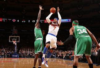 """Melo et Smith, l'assurance tous """"Knicks"""""""