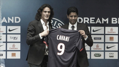 Paris s'offre Cavani !