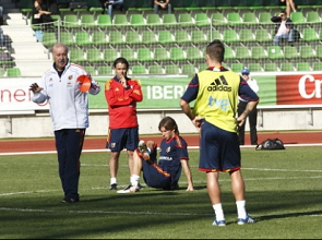 La Roja se concentra de cara a la Eurocopa