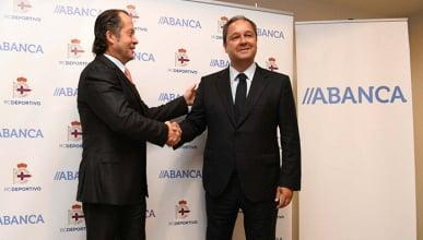 Acuerdo entre el Deportivo y ABANCA