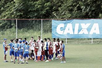Sem tempo para descanso, atletas do Bahia se reapresentam visando jogo contra Cruzeiro