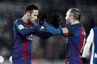 Iniesta afirma que não se surpreenderia em ver Neymar jogando no Real Madrid