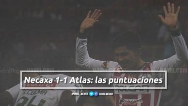 Atlas 1-1 Necaxa: puntuaciones de Necaxa en la jornada 7 de la Liga MX Clausura 2018