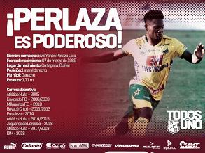 Elvis Perlaza es nuevo jugador del DIM