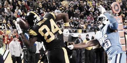 Pittsburgh Steelers move to 8-2 after win against Tennessee Titans