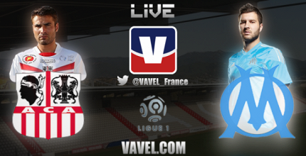 Live Ajaccio - Marseille, le match en direct