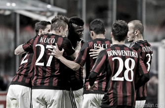 Milan 2-1 Carpi: Rossoneri scrape semi-final spot