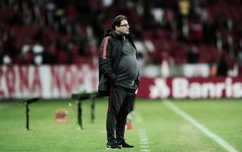 """Guto Ferreira valoriza vitória do Inter e fala em melhor: """"Nosso time tem muito a evoluir"""""""