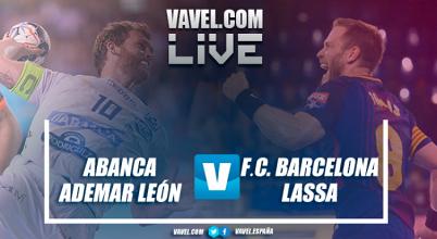 Resumen Abanca Ademar León 22-28 Barcelona Lassa por la final de la Copa ASOBAL 2017