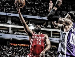 James Harden anota triplo-duplo e comanda vitória dos Rockets sobre os Kings