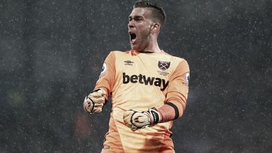 Adrián le abre las puertas a una posible salida de West Ham