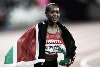 World Athletics Championship: Faith Kipyegon takes gold in thrilling 1500m final