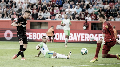 Intenso empate en Leverkusen