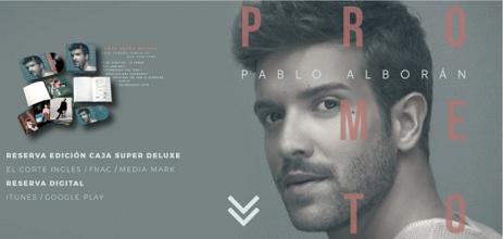 Pablo Alborán anuncia con 'Prometo' el lanzamiento de su nuevo disco