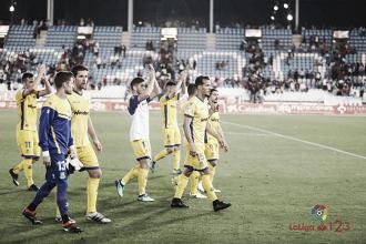 El Alcorcón sella más de media permanencia en Almería
