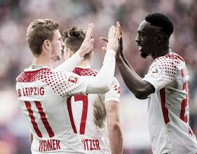 Leipzig se recupera, tem boa atuação e derrota Eintracht Frankfurt