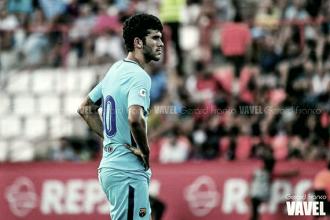 Ojeando al rival: FC Barcelona B, a levantar el vuelo en el derbi