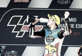 Álex Márquez logra su primera victoria en moto2