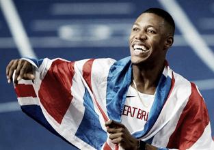 European Athletics Championships: Zharnel Hughes snatches 100m title