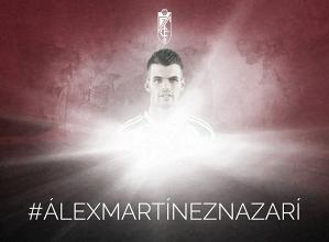 Álex Martínez, nuevo jugador del Granada