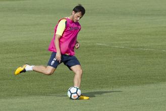 Espinosa, ausente en el entrenamiento del Granada CF