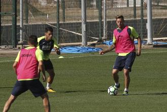 Cinco entrenamientos para preparar el partido contra el Huesca