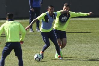 El Granada CF trabaja la presión en el tercer entrenamiento semanal