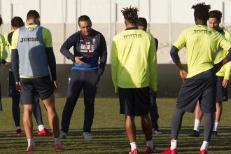Cinco entrenamientos antes de visitar al FC Barcelona 'B'