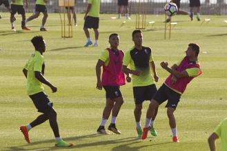 Cuatro entrenamientos para decidir los cambios frente al Córdoba CF
