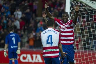 Ramos consigue el póker para el Granada CF