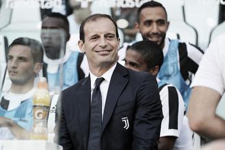 Allegri celebra vitória da Juventus na abertura da Serie A e comenta atuação da defesa sem Bonucci