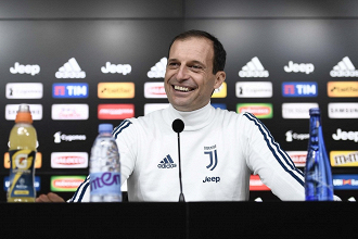 Juventus, Allegri in conferenza   www.twitter.com (@juventusfces)