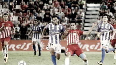 Los palos frenan al Valladolid
