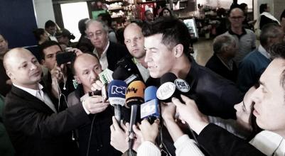"""Jorge Almirón: """"Armani representa mucho para este club, le deseo lo mejor"""""""