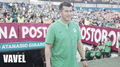 """Jorge Almirón: """"La camiseta de Nacional es una camiseta grande, así que hay que defenderla siempre"""""""