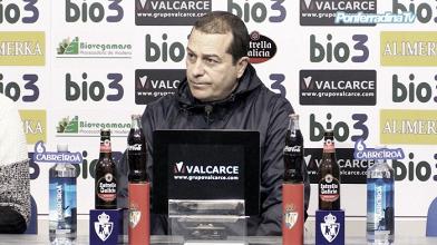 """Álvarez Tomé: """"Lo de Pasarón pesó como una losa"""""""