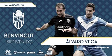 Álvaro Vega, nuevo refuerzo para el Atlético Baleares