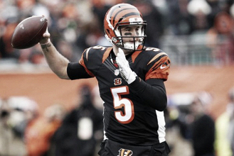 AJ McCarron trade to the Cleveland Browns off due to late paperwork
