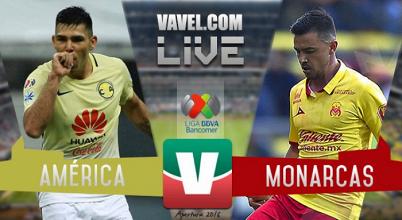 Goles del partido América vs Monarcas Morelia en Amistoso (0-2)