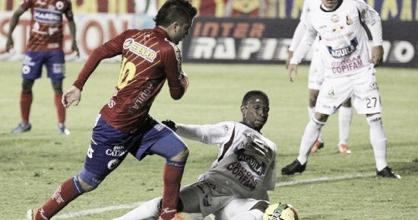 Deportes Tolima y Deportivo Pasto no se hicieron daño