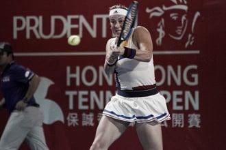 WTA Hong Kong: Anastasia Pavlyuchenkova survives Jacqueline Cako for a place in the quarterfinals