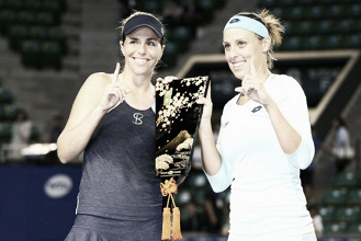 Andreja Klepac and Maria Jose Martinez Sanchez seal their spot at the WTA Finals
