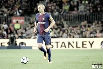 """Andrés Iniesta: """"El equipo ha hecho un gran esfuerzo"""""""